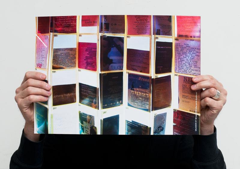 Une page recto verso, offset,  24 x 30cm, 500 exemplaires,  Les Salaisons éditeur, 2008